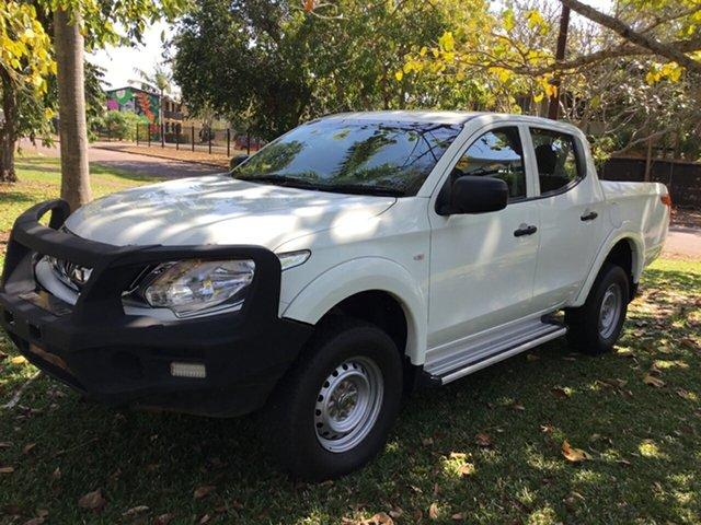 Used Mitsubishi Triton MN MY15 GLX, 2015 Mitsubishi Triton MN MY15 GLX White 4 Speed Automatic Double Cab Utility