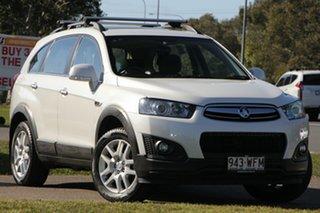 2015 Holden Captiva CG MY15 7 LS White 6 Speed Sports Automatic Wagon.