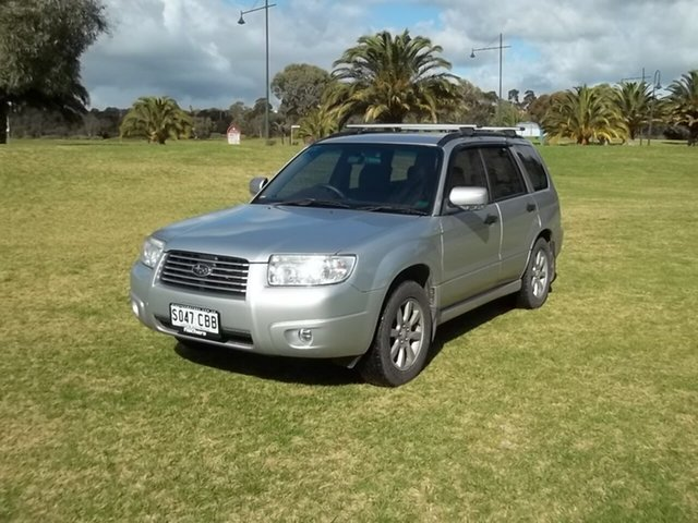 Used Subaru Forester 79V MY07 XS AWD, 2006 Subaru Forester 79V MY07 XS AWD 5 Speed Manual Wagon