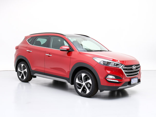 Demo Hyundai Tucson TLE2 MY18 Highlander R-Series (AWD), 2018 Hyundai Tucson TLE2 MY18 Highlander R-Series (AWD) Fiery Red 6 Speed Automatic Wagon