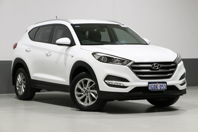 Used Hyundai Tucson TL Active (FWD), 2016 Hyundai Tucson TL Active (FWD) White 6 Speed Manual Wagon