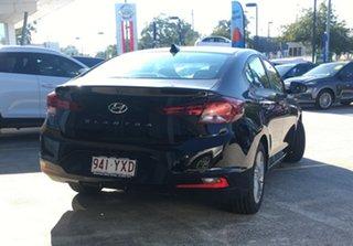 2019 Hyundai Elantra AD.2 MY19 Active Phantom Black Pearl 6 Speed Sports Automatic Sedan.