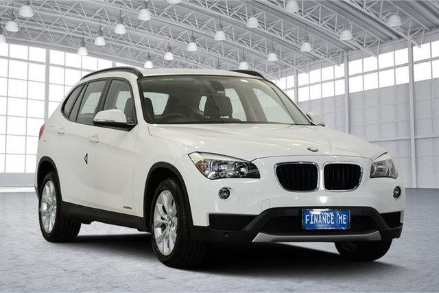 Used BMW X1 E84 MY0314 sDrive18d, 2014 BMW X1 E84 MY0314 sDrive18d White 8 Speed Sports Automatic Wagon