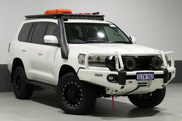 Used Toyota Landcruiser VDJ200R MY19 LC200 GXL (4x4), 2019 Toyota Landcruiser VDJ200R MY19 LC200 GXL (4x4) Crystal Pearl 6 Speed Automatic Wagon
