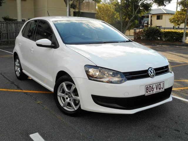 Used Volkswagen Polo 6R MY14 77TSI Comfortline, 2013 Volkswagen Polo 6R MY14 77TSI Comfortline White 6 Speed Manual Hatchback