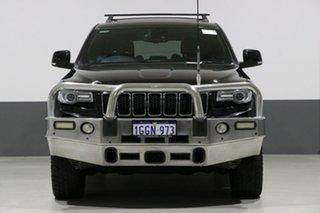 2013 Jeep Grand Cherokee WK MY14 Overland (4x4) Black 8 Speed Automatic Wagon.