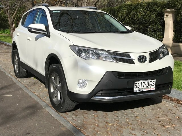 Used Toyota RAV4 ZSA42R GXL 2WD, 2015 Toyota RAV4 ZSA42R GXL 2WD Crystal Pearl 7 Speed Constant Variable Wagon