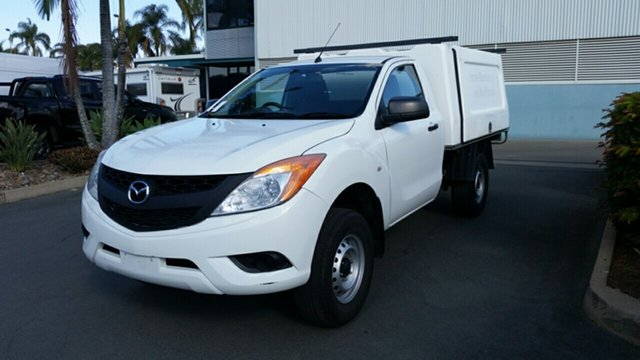 Used Mazda BT-50 UP0YD1 XT 4x2 Hi-Rider, 2014 Mazda BT-50 UP0YD1 XT 4x2 Hi-Rider COOL 6 Speed Sports Automatic Cab Chassis