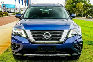 2019 Nissan Pathfinder R52 Series III MY19 ST+ X-tronic 2WD Caspian Blue 1 Speed Constant Variable