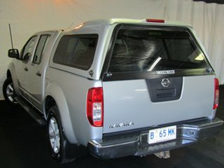 2010 Nissan Navara D40 ST Silver 5 Speed Automatic Utility.