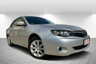 2010 Subaru Impreza G3 MY10 R AWD Spark Silver 4 Speed Sports Automatic Sedan.