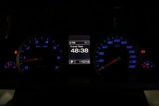 2013 Ford Falcon FG MK2 XR6 White 6 Speed Auto Seq Sportshift Cab Chassis