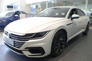 2018 Volkswagen Arteon 3H MY18 206TSI Sedan DSG 4MOTION R-Line Pure White 7 Speed