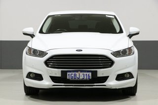 2016 Ford Mondeo MD Ambiente White 6 Speed Automatic Hatchback.