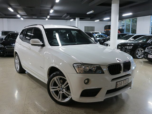 Used BMW X3 F25 MY1213 xDrive20d Steptronic, 2014 BMW X3 F25 MY1213 xDrive20d Steptronic White 8 Speed Automatic Wagon