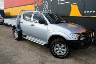 2014 Mitsubishi Triton MN MY15 GLX Double Cab Satellite Silver 4 Speed Sports Automatic Utility.