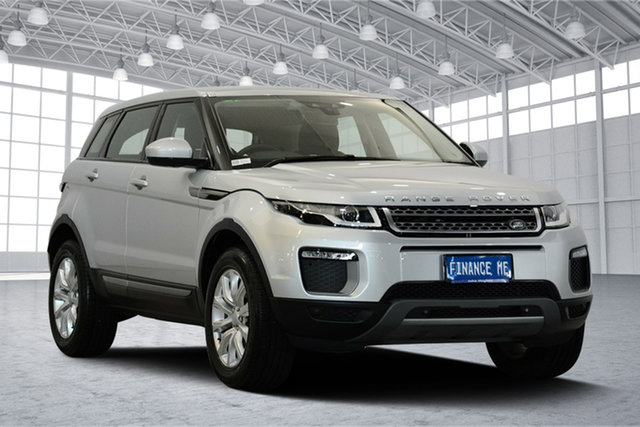 Used Land Rover Range Rover Evoque L538 MY16.5 TD4 150 SE, 2016 Land Rover Range Rover Evoque L538 MY16.5 TD4 150 SE Silver 9 Speed Sports Automatic Wagon