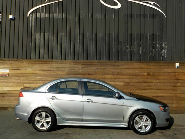 Used Mitsubishi Lancer CJ MY08 VR, 2008 Mitsubishi Lancer CJ MY08 VR Silver 6 Speed Constant Variable Sedan