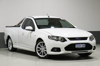 2013 Ford Falcon FG MK2 XR6 White 6 Speed Auto Seq Sportshift Cab Chassis.