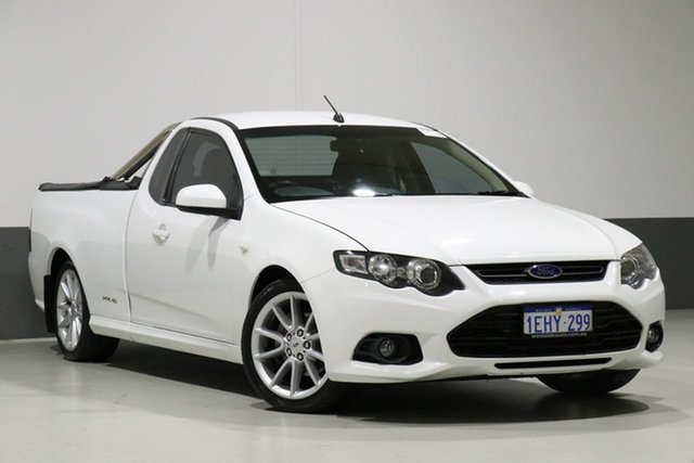 Used Ford Falcon FG MK2 XR6, 2013 Ford Falcon FG MK2 XR6 White 6 Speed Auto Seq Sportshift Cab Chassis
