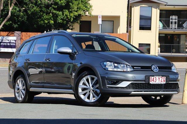 Demo Volkswagen Golf 7.5 MY19.5 Alltrack DSG 4MOTION 132TSI, 2019 Volkswagen Golf 7.5 MY19.5 Alltrack DSG 4MOTION 132TSI Indium Grey 6 Speed