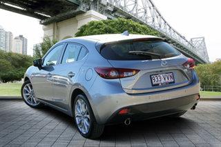 2015 Mazda 3 BM5438 SP25 SKYACTIV-Drive Silver 6 Speed Sports Automatic Hatchback.