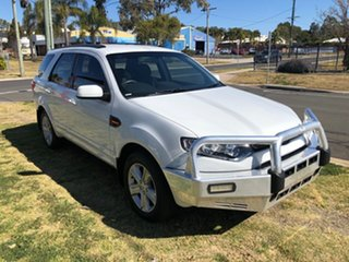 2014 Ford Territory SZ TX (RWD) White 6 Speed Automatic Wagon