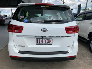 2018 Kia Carnival YP MY19 S White 8 Speed Sports Automatic Wagon