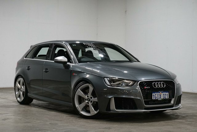 Used Audi RS 3 8V MY16 Sportback S Tronic Quattro, 2016 Audi RS 3 8V MY16 Sportback S Tronic Quattro Grey 7 Speed Sports Automatic Dual Clutch