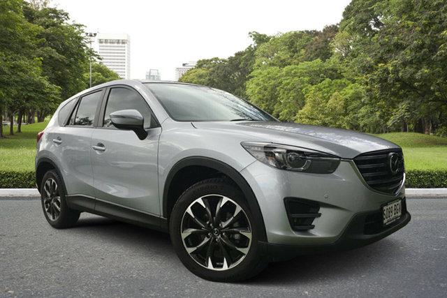 Used Mazda CX-5 KE1032 Akera SKYACTIV-Drive AWD, 2014 Mazda CX-5 KE1032 Akera SKYACTIV-Drive AWD Billet Silver 6 Speed Sports Automatic Wagon