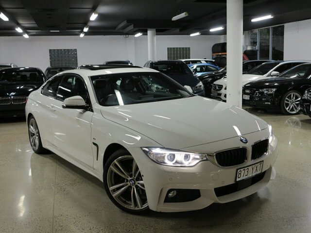 Used BMW 4 Series F32 420d M Sport, 2016 BMW 4 Series F32 420d M Sport Alpine White 8 Speed Sports Automatic Coupe
