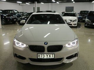 2016 BMW 4 Series F32 420d M Sport Alpine White 8 Speed Sports Automatic Coupe