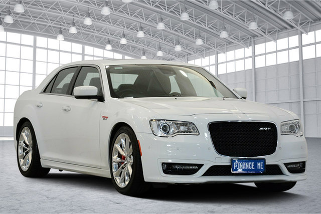 Used Chrysler 300 LX MY15 SRT E-Shift, 2015 Chrysler 300 LX MY15 SRT E-Shift Bright White 8 Speed Sports Automatic Sedan