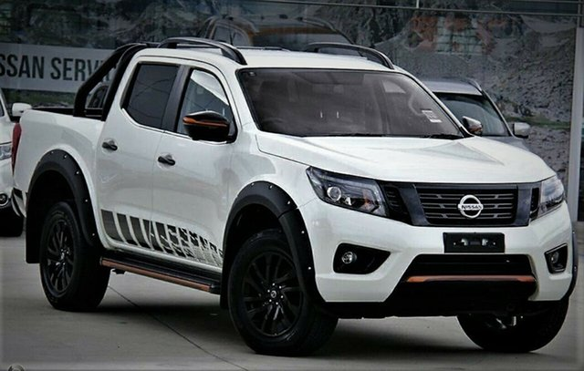 New Nissan Navara D23 S4 MY19 N-TREK, 2019 Nissan Navara D23 S4 MY19 N-TREK White Diamond 7 Speed Sports Automatic Utility