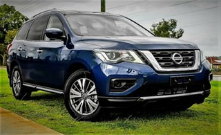 2019 Nissan Pathfinder R52 Series III MY19 ST+ X-tronic 2WD Caspian Blue 1 Speed Constant Variable.