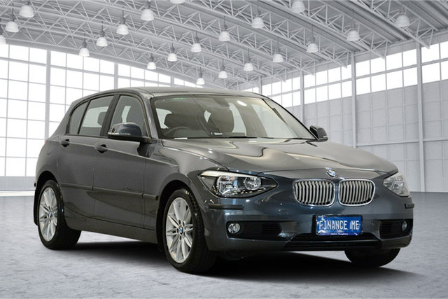 Used BMW 1 Series F20 , 2012 BMW 1 Series F20 Grey 8 Speed Sports Automatic Hatchback