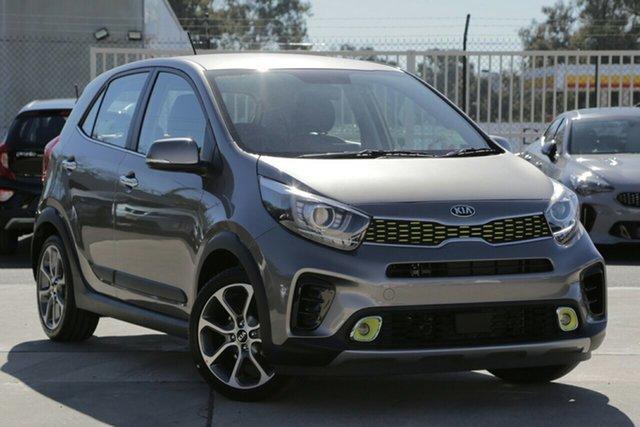 New Kia Picanto JA MY20 X-Line, 2019 Kia Picanto JA MY20 X-Line Titanium Silver 4 Speed Automatic Hatchback