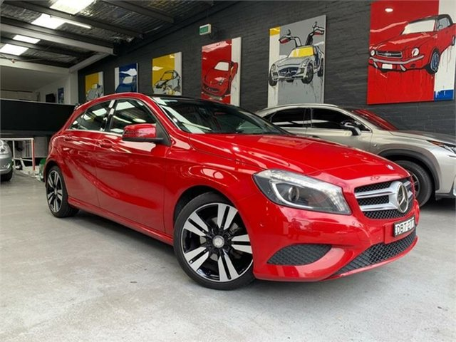 Used Mercedes-Benz A200 CDI W176 , 2013 Mercedes-Benz A200 CDI W176 Red Sports Automatic Dual Clutch Hatchback