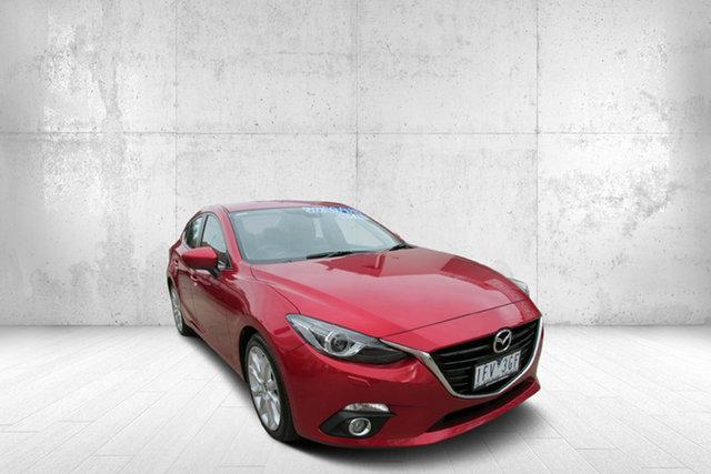 Used Mazda 3 BM5238 SP25 SKYACTIV-Drive GT, 2015 Mazda 3 SP25 GT SP25 SKYACTIV-Drive GT Red 6 Speed Automatic Sedan