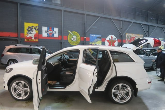 Used Audi Q7 MY12 TDI Tiptronic Quattro, 2011 Audi Q7 MY12 TDI Tiptronic Quattro White 8 Speed Sports Automatic Wagon