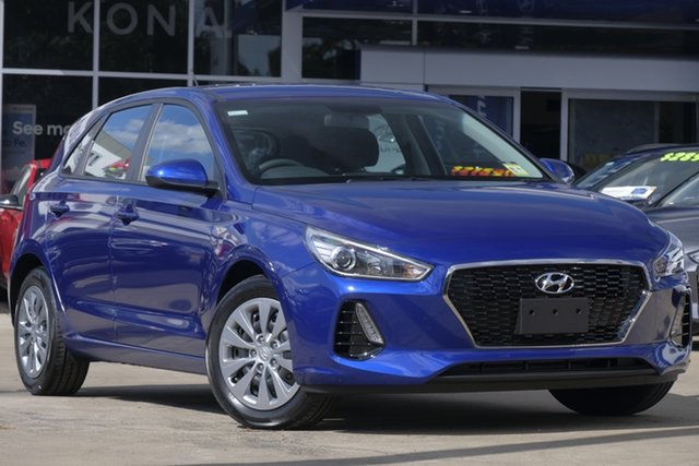 New Hyundai i30 PD MY19 Go, 2019 Hyundai i30 PD MY19 Go Intense Blue 6 Speed Sports Automatic Hatchback