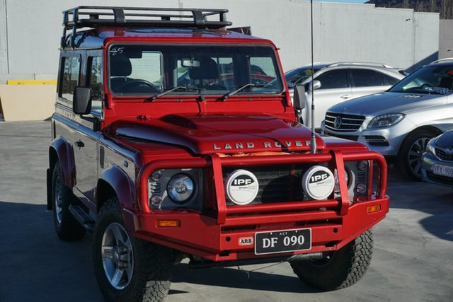 Used Land Rover Defender 90 12MY , 2012 Land Rover Defender 90 12MY Red 6 Speed Manual Wagon