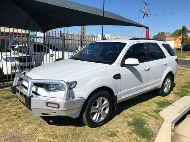 Used Ford Territory SZ TX (RWD), 2014 Ford Territory SZ TX (RWD) White 6 Speed Automatic Wagon