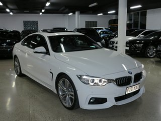 2016 BMW 4 Series F32 420d M Sport Alpine White 8 Speed Sports Automatic Coupe.