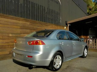 2008 Mitsubishi Lancer CJ MY08 VR Silver 6 Speed Constant Variable Sedan.