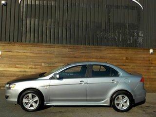 2008 Mitsubishi Lancer CJ MY08 VR Silver 6 Speed Constant Variable Sedan