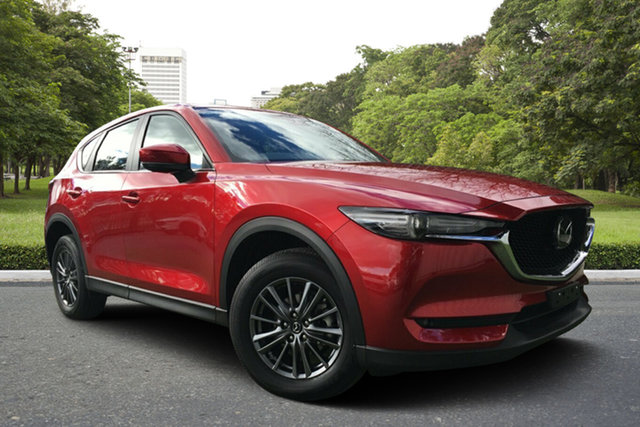Used Mazda CX-5 KF2W7A Maxx SKYACTIV-Drive FWD Sport, 2018 Mazda CX-5 KF2W7A Maxx SKYACTIV-Drive FWD Sport Red 6 Speed Sports Automatic Wagon