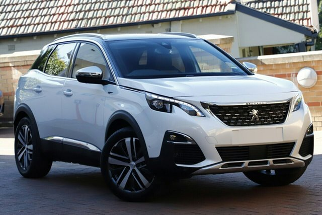 New Peugeot 3008 P84 MY20 GT SUV, 2019 Peugeot 3008 P84 MY20 GT SUV White 8 Speed Sports Automatic Hatchback