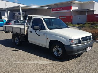 2003 Toyota Hilux RZN147R MY02 Workmate 4x2 White Solid 5 Speed Manual Cab Chassis