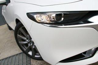 2019 Mazda 3 BP2SLA G25 SKYACTIV-Drive GT Snowflake White 6 Speed Sports Automatic Sedan.